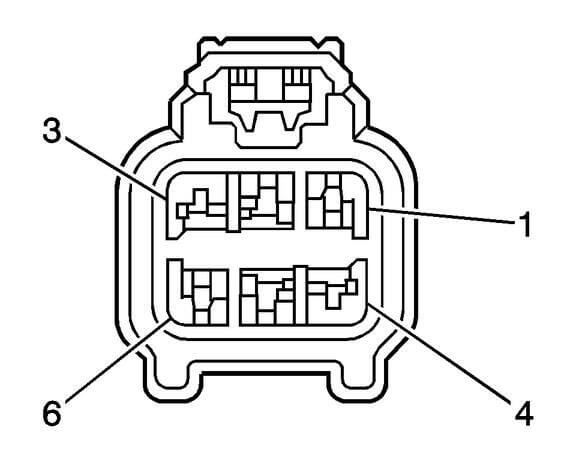 GM liftgate connector