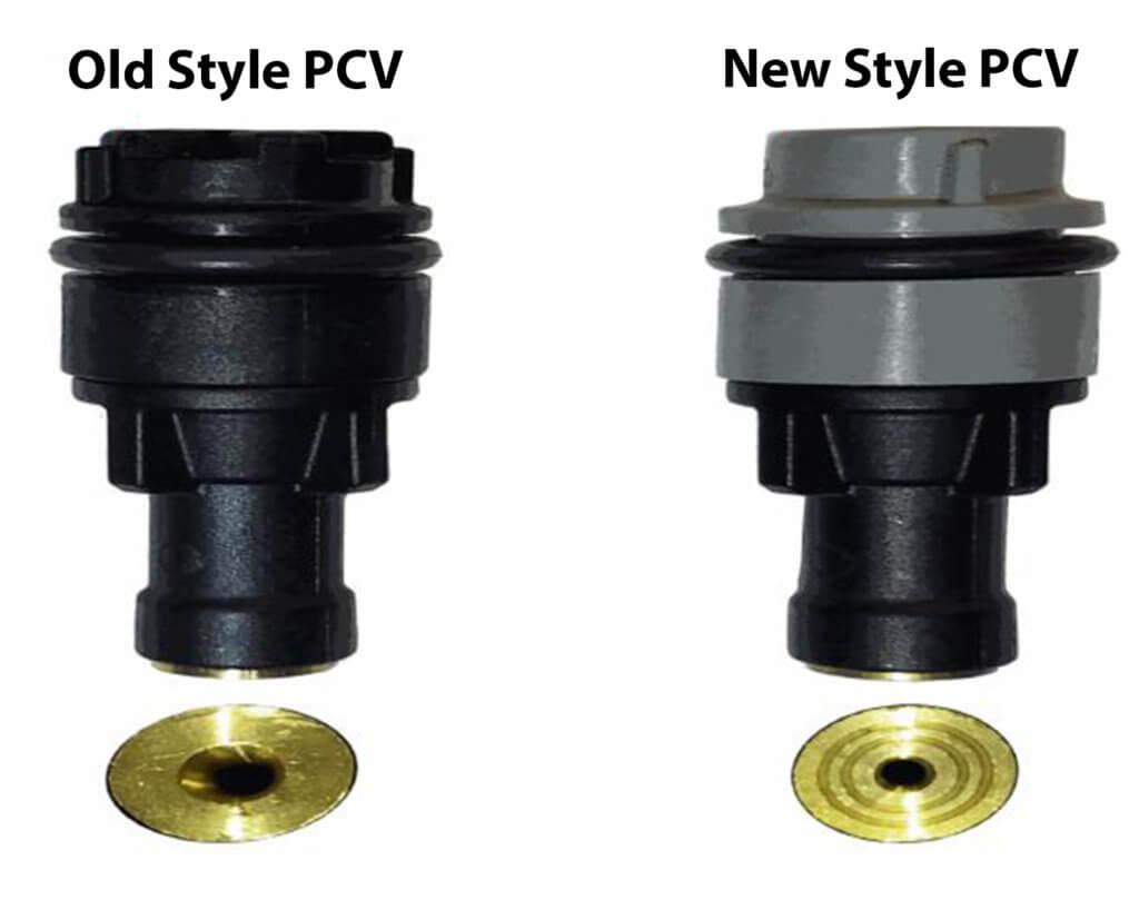 old versus new PCV