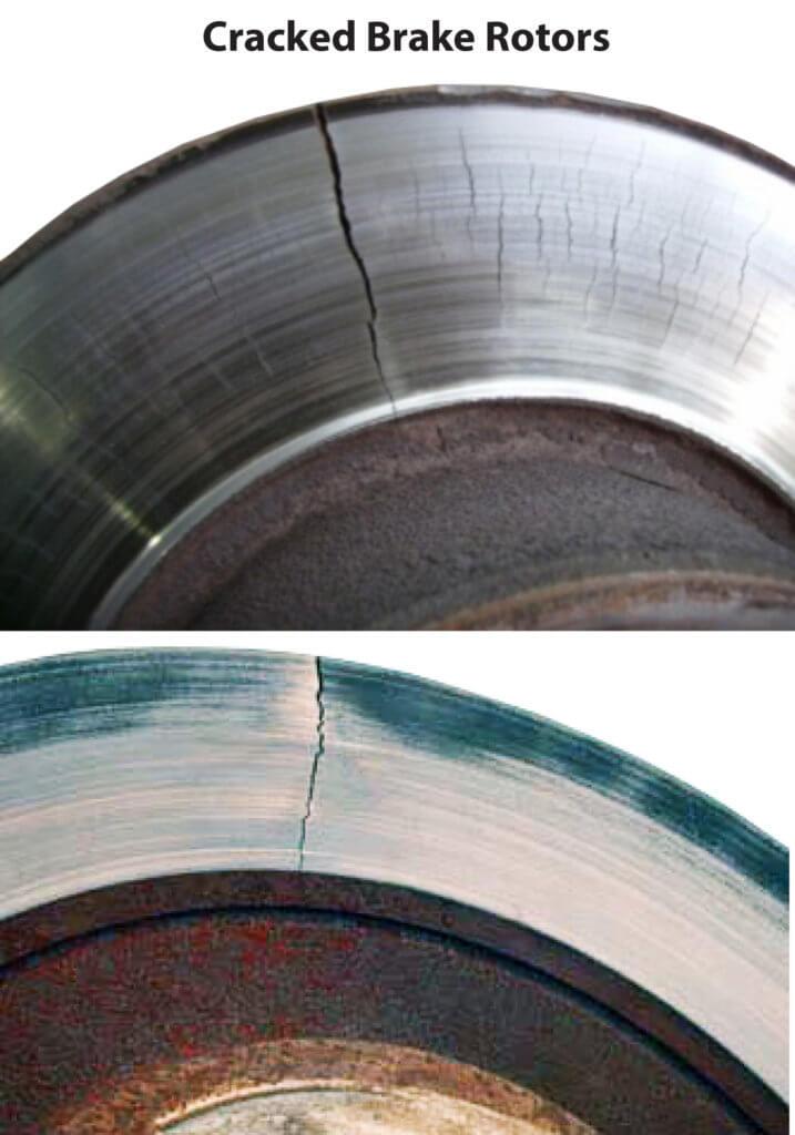 cracked brake rotors