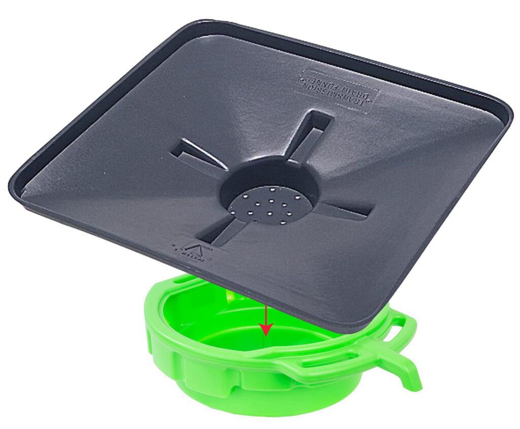 coolant drain pan