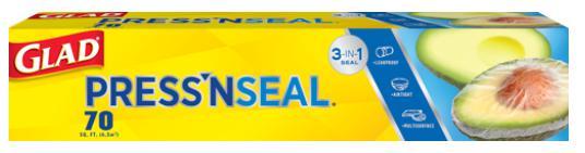 press n seal plastic wrap