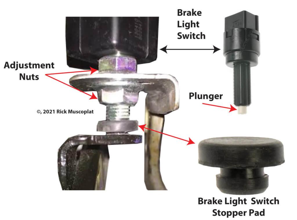brake lights won't turn off