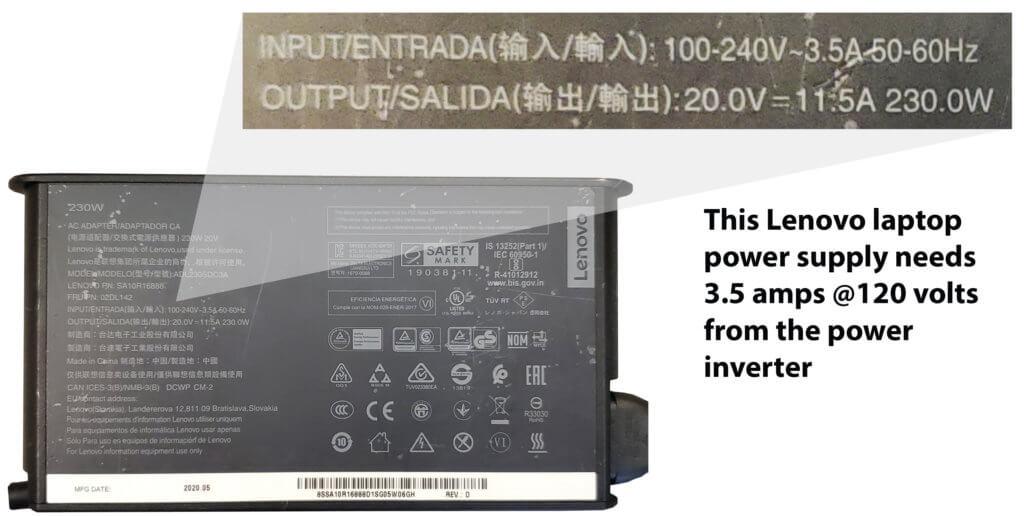 laptop power supply